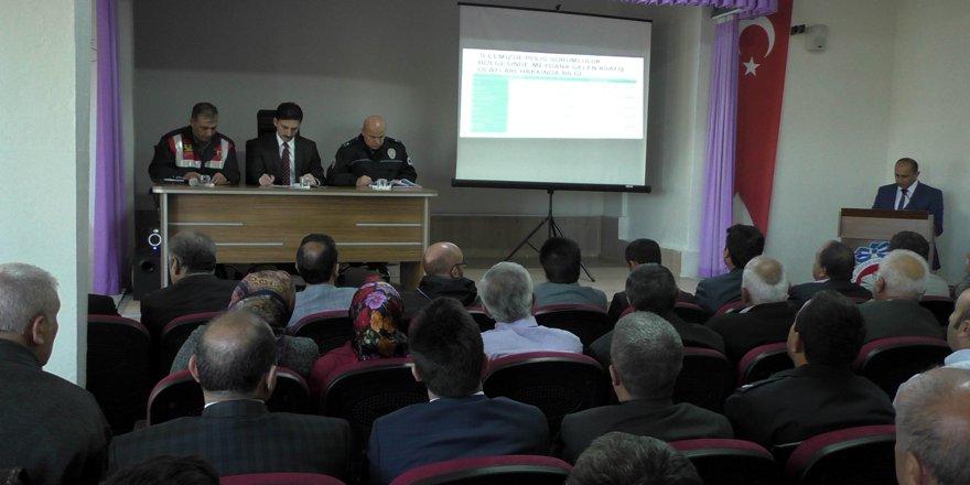 Beyşehir'de Güvenlik Danışma Kurulu toplantısı yapıldı