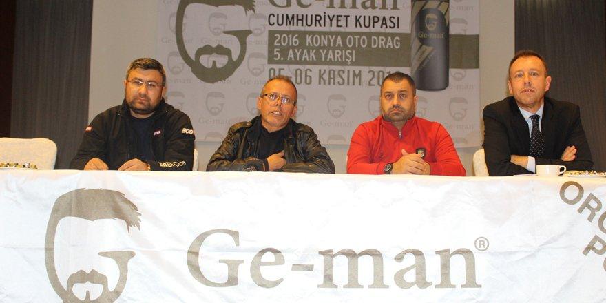 Cumhuriyet Kupası Drag Yarışları Pazar günü Konya'da yapılacak