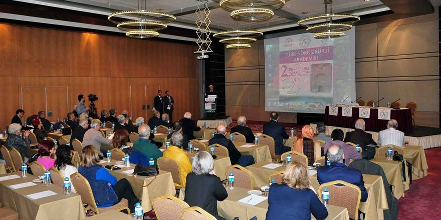 Türk Nöroşirürji Akademisi 2. konferansını gerçekleştirdi