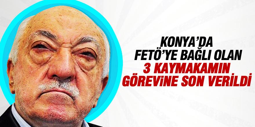 Konya'da 3 kaymakam görevden uzaklaştırıldı