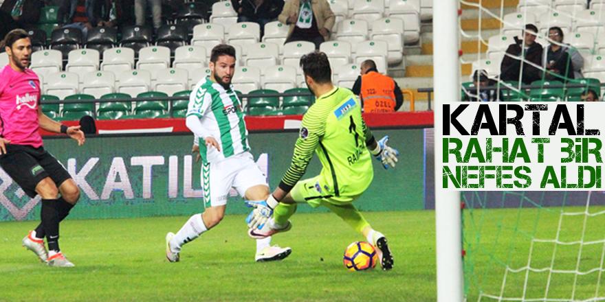 Atiker Konyaspor: 2 - Kasımpaşa: 1 (MAÇ SONUCU)