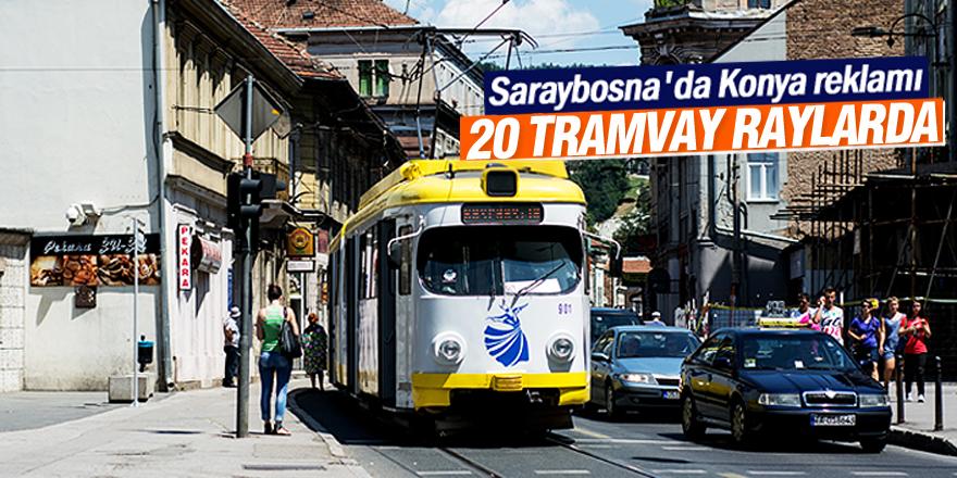 Saraybosna'da 20 tramvay raylarda