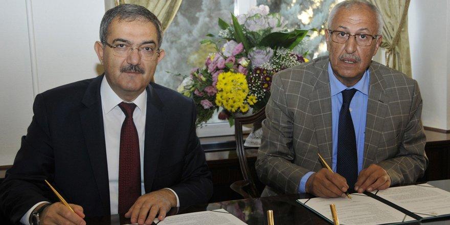 Selçuk Üniversitesi ile Hüyük Belediyesi protokol imzaladı