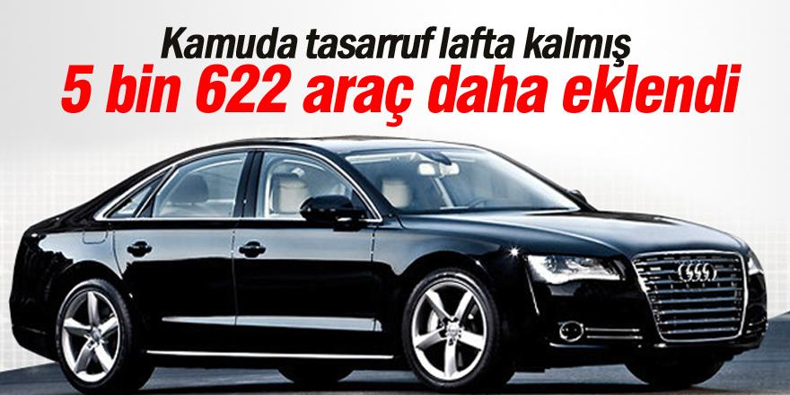 Kamuya 5 bin 622 araç daha eklendi