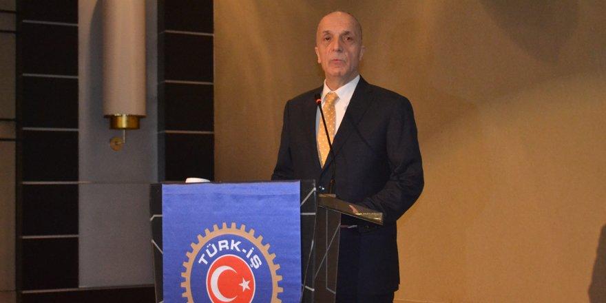 Türk-İş Genel Başkanı Atalay Konya'da