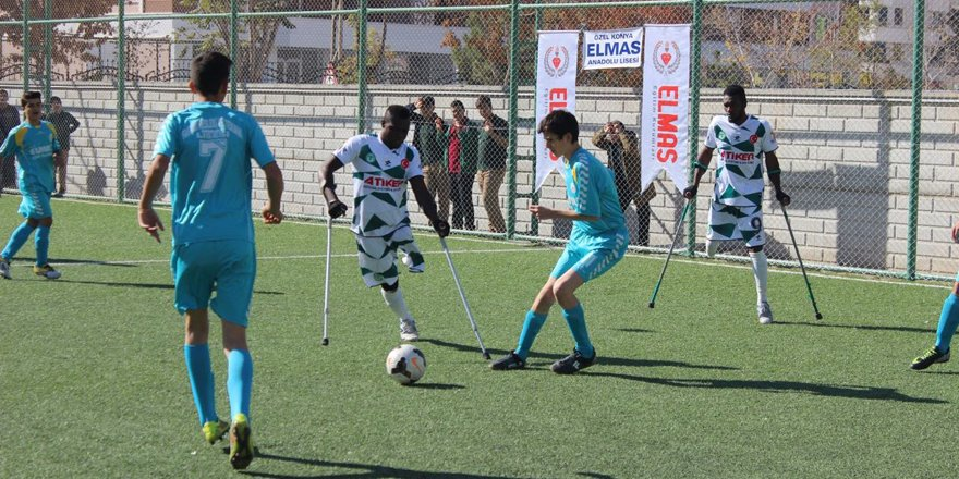 Engelliler Gücü Ampute Kayseri' de kayıp