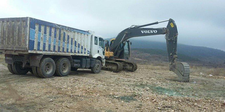 Huğlu Mahallesi'nde TOKİ konutlarının inşaat çalışmaları başladı