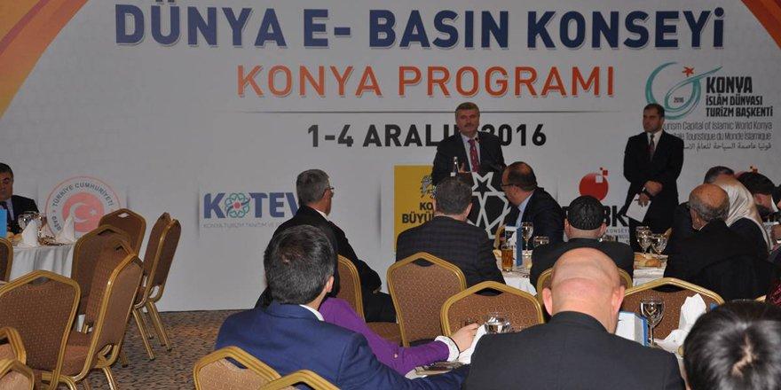 Dünya E-Basın Konseyi programı düzenlendi