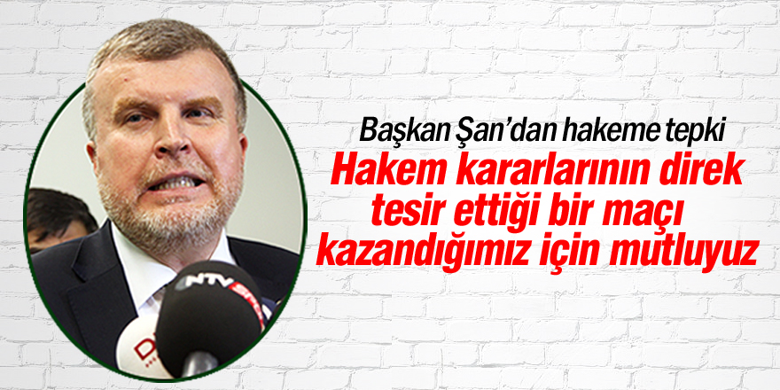 Atiker Konyaspor'un hakem tepkisi