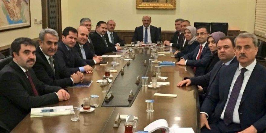 AK Parti Konya İl Teşkilatı'ndan Bakan Işık'a ziyaret