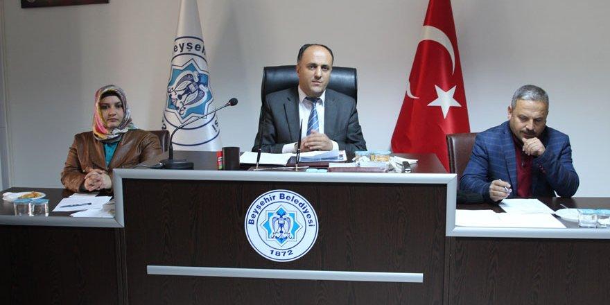 Beyşehir Belediye Meclisi toplandı
