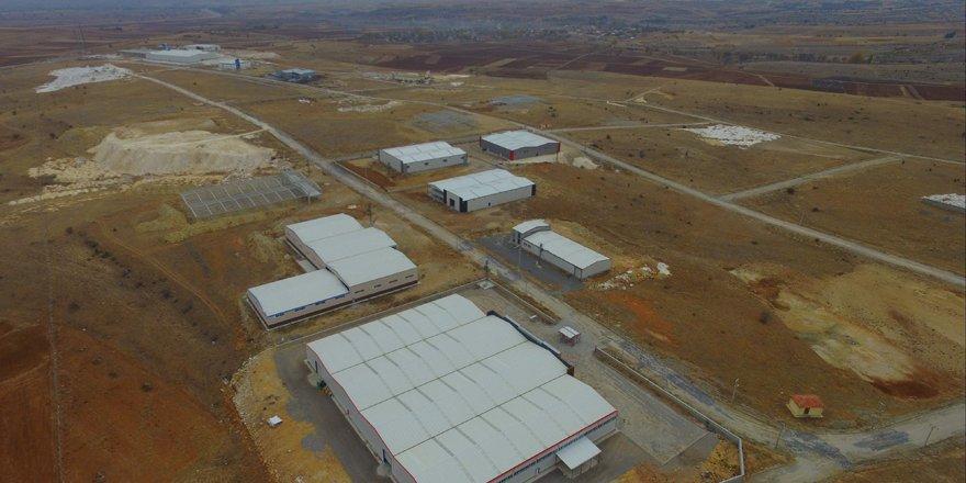 Beyşehir OSB'de 2020 hedefi; 20 fabrika bacasının tütmesi