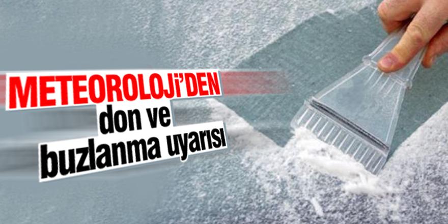 Konya'ya don uyarısı