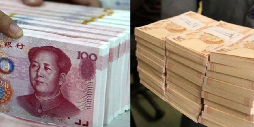 TCMB ile Çin Merkez Bankası arasında ilk para takası
