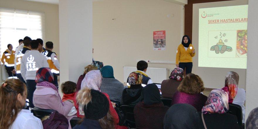 Kulu'da Acil Sağlık Hizmetleri Haftası etkinlikleri