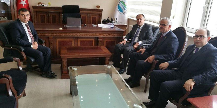 Başkan Özaltun'dan, yeni atanan Kaymakam Şahiner'e ziyaret