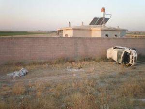 Karapınarda trafik kazası: 1 ölü