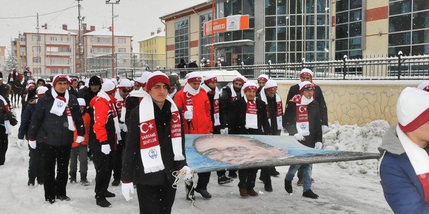 Akşehir'de Sarıkamış Şehitleri Anıldı