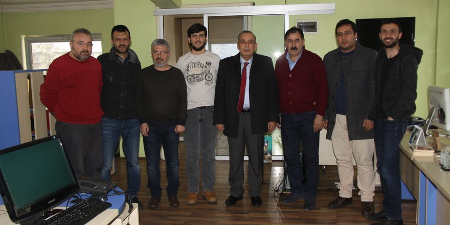 Ali Osman Karamercan Merhaba'yı ziyaret etti