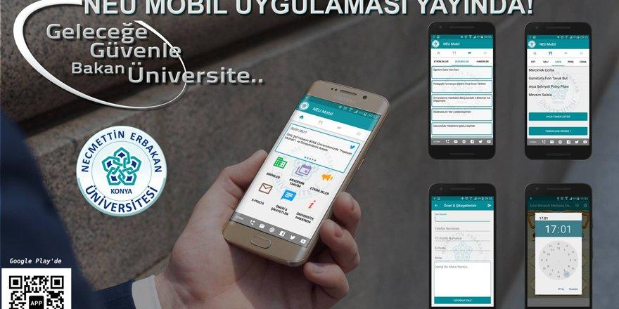 NEÜ'nün mobil uygulaması yayında