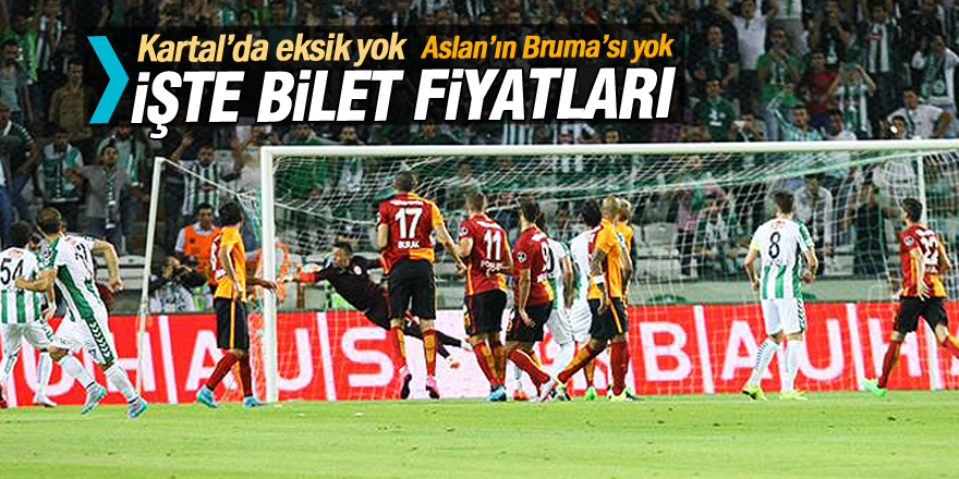 Konyaspor - Galatasaray maçının biletleri satışa sunuldu
