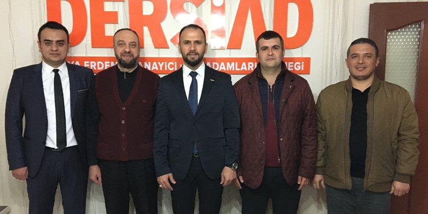 DERSİAD'DA Özkan yeniden başkan