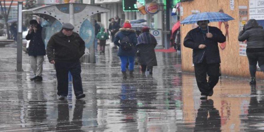 Konya'ya yağmurlar geliyor