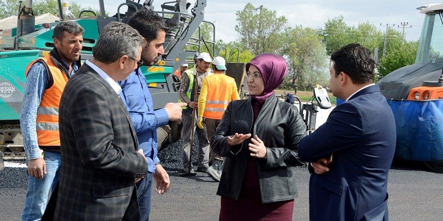 Meram'da asfalt rekoru kırıldı