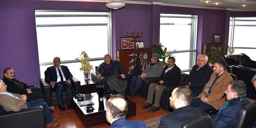 Vali Yakup Canbolat BÜSAN'ı ziyaret etti