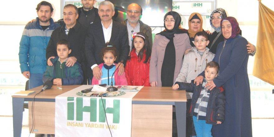 Halepli mültecilere yardım eli uzandı
