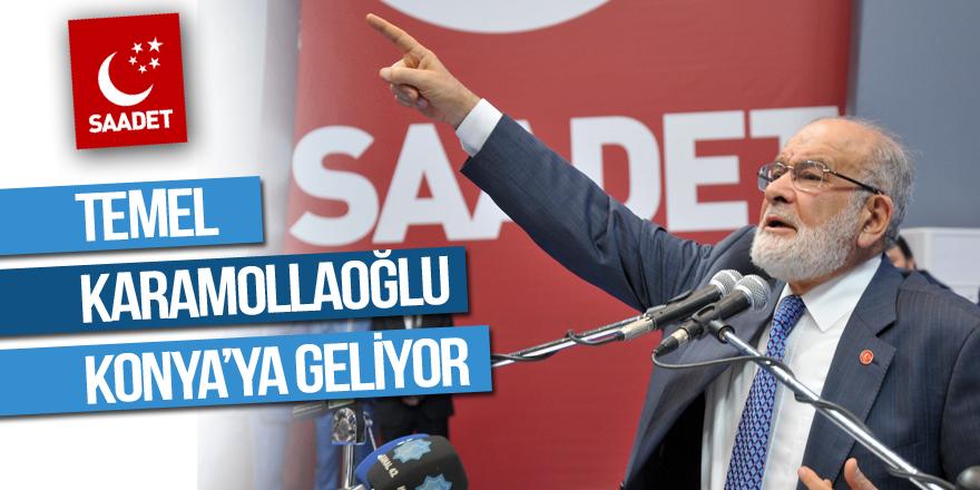 Temel Karamollaoğlu Konya'ya geliyor