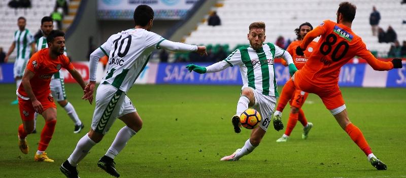 Atiker Konyaspor - Çaykur Rizespor: 2 - 1