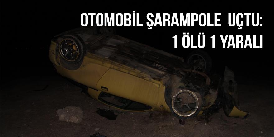 Otomobil şarampole  uçtu: 1 ölü 1 yaralı
