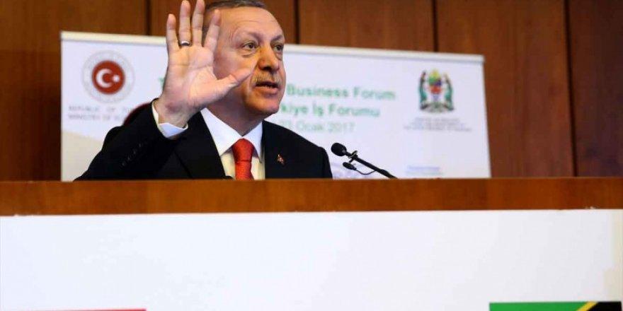 Erdoğan: Dünyayı 5 ülkenin iki dudağı arasına terk edemeyiz