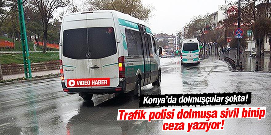 Trafik polisi, toplu taşıma araçlarına sivil binip, ihlal yapanlara ceza yazıyor