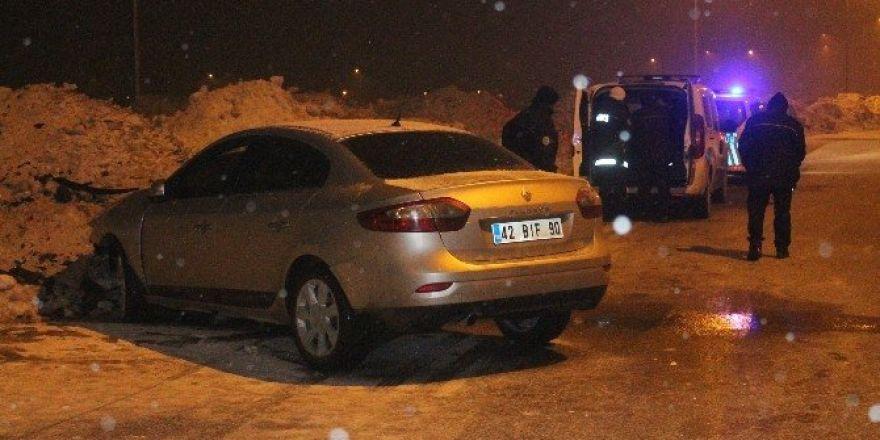 16 yaşındaki sürücü polisten kaçarken kaza yaptı