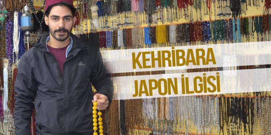 Kehribara Japon ilgisi