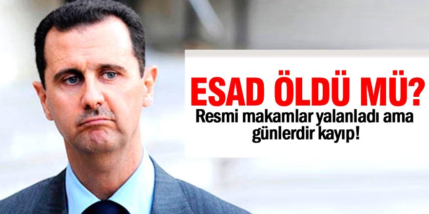 Esad öldü mü?