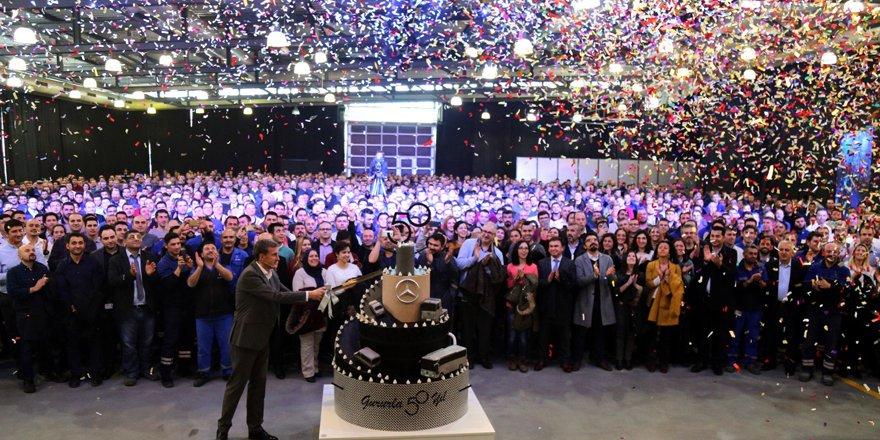 Mercedes-Benz Türk 50. Yaşında