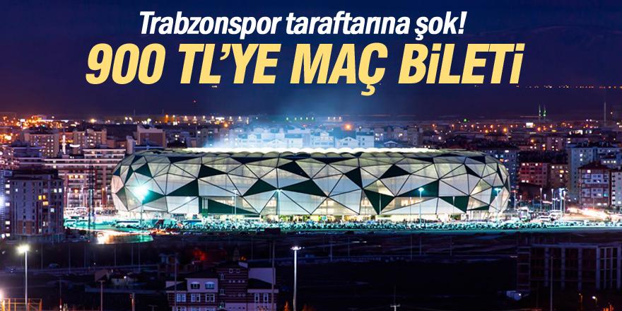 Trabzonspor maçı bileti 900 lira