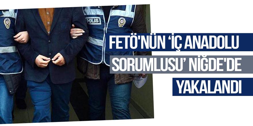"""FETÖ'nün """"İç Anadolu sorumlusu"""" Niğde'de yakalandı"""