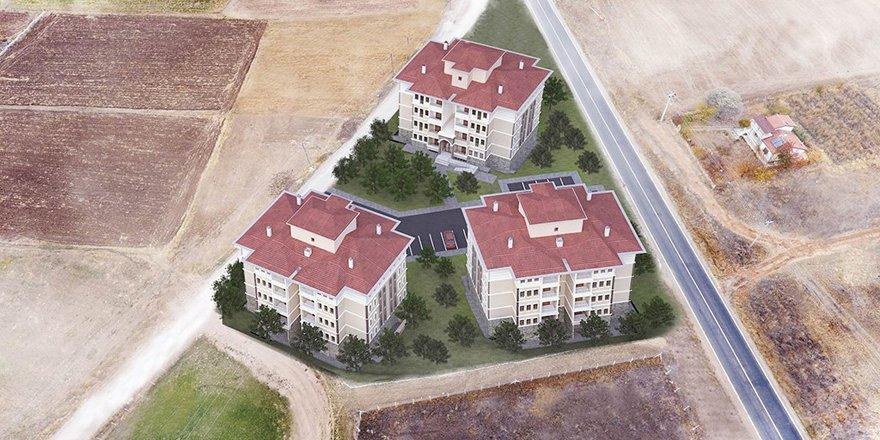 Derbent'e TOKİ'den 47 konut