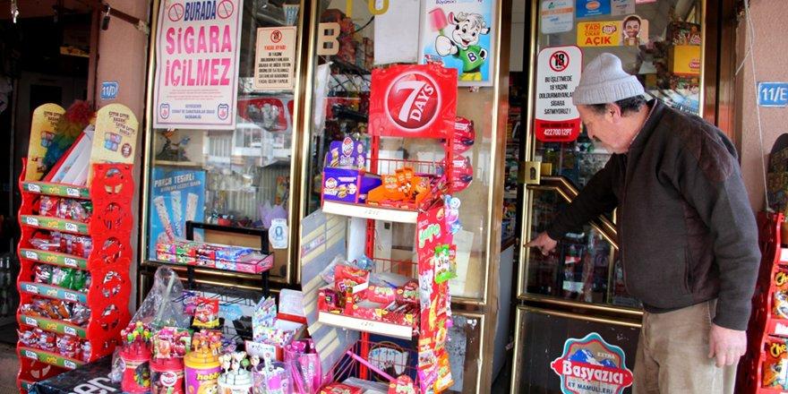Seydişehir'de marketten hırsızlık