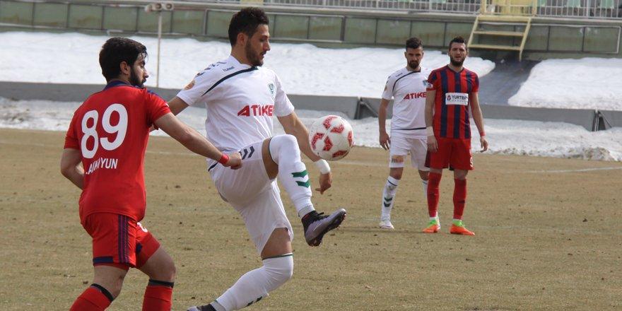Anadolu Selçukspor 3 puanı tek gol ile aldı