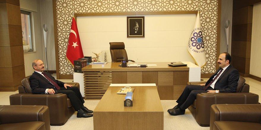 Sorgun'dan Başkan Altay'a ziyaret