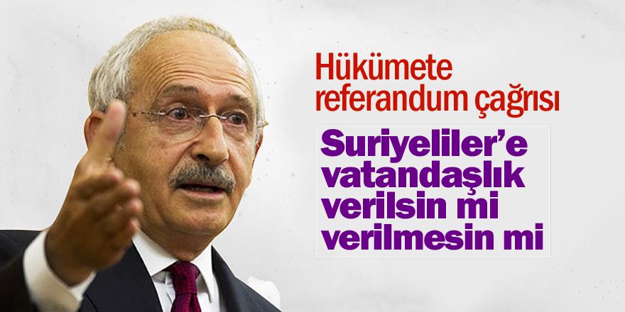 Kılıçdaroğlu: 'Evet' oyunun vebali ağırdır