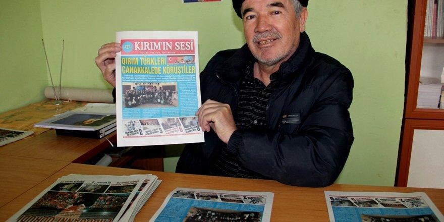 Kırımın Sesi Gazetesi 3 yaşında