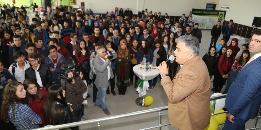 Başkan Özgüven'den öğrencilere YGS motivasyonu