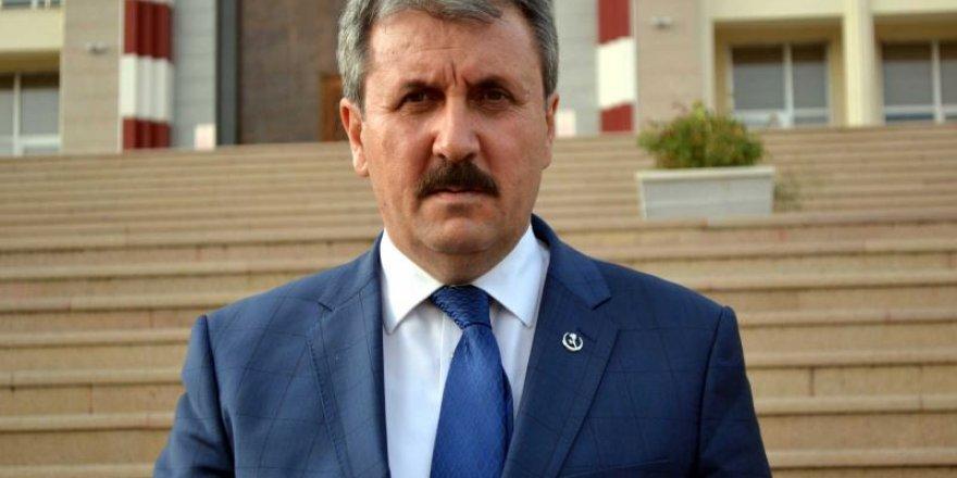 'Mustafa Destici Cumhurbaşkanı adayı olacak'