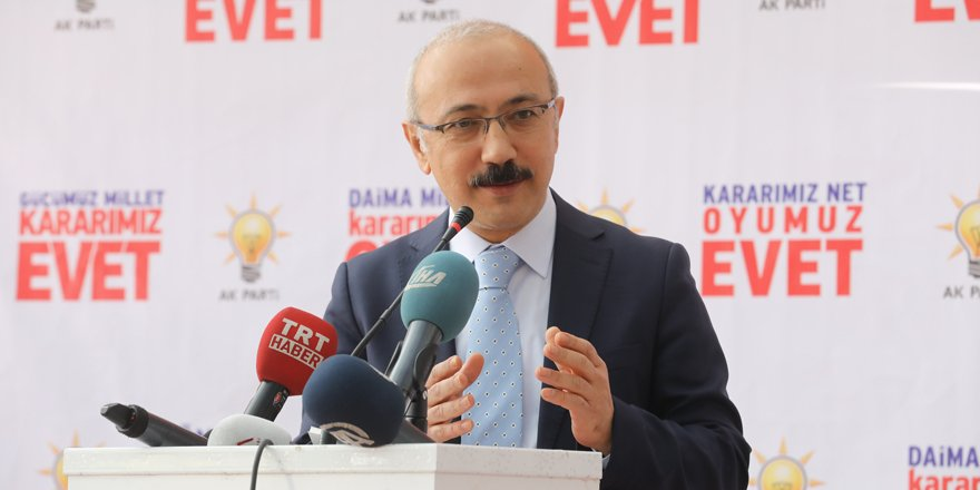 Kalkınma Bakanı Elvan Konya'da